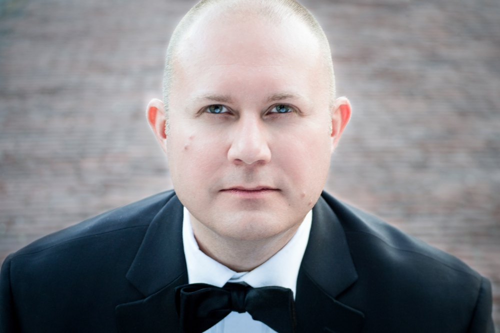 Bass-baritone Seth Keeton