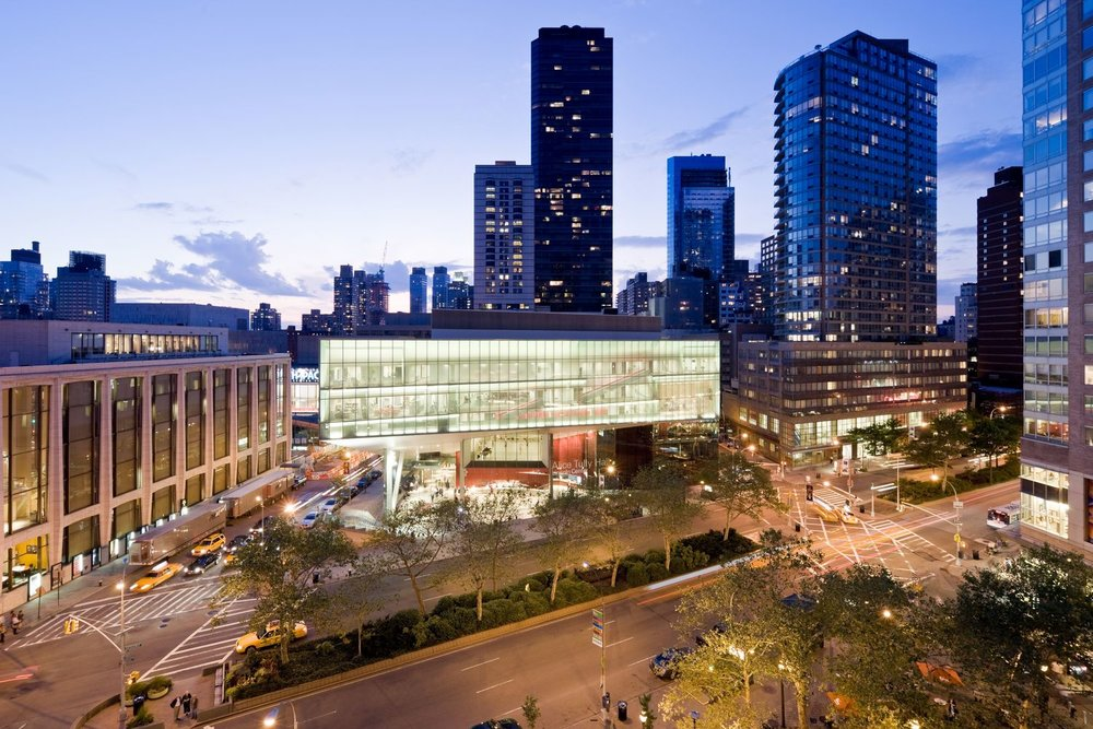 The Juilliard School in New York City.