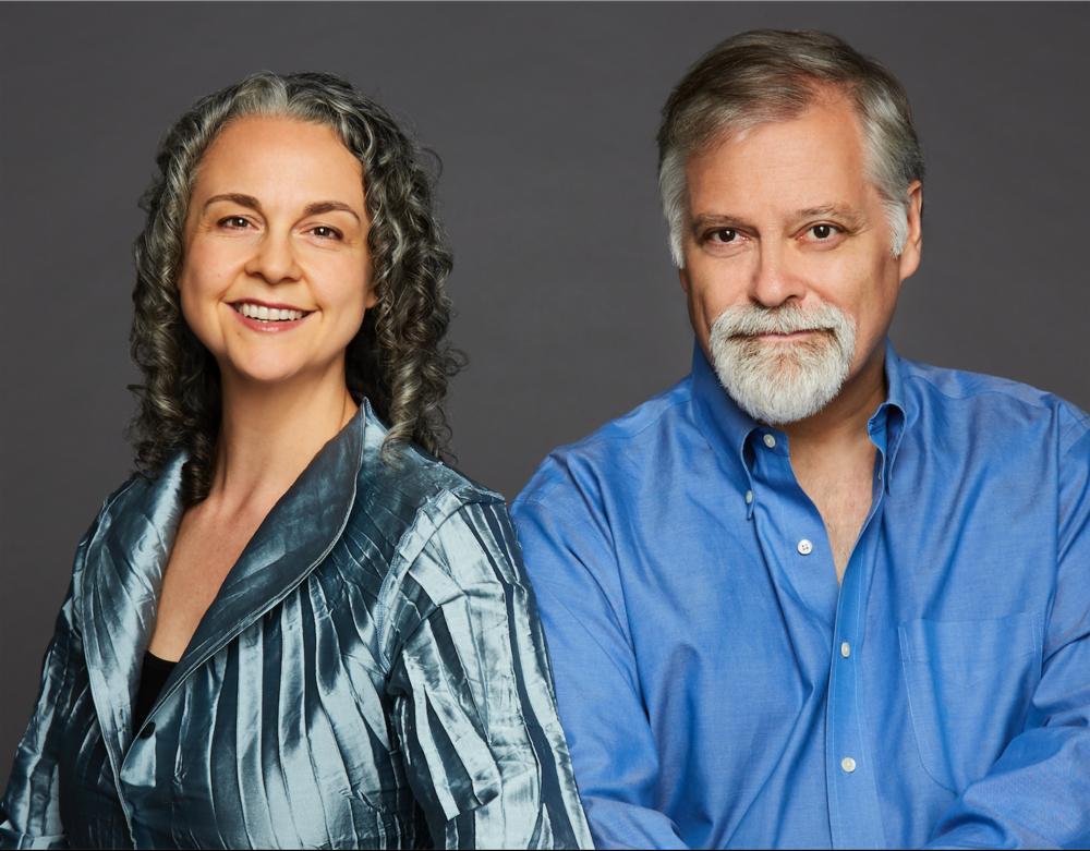 Gilda Lyons and Daron Hagen (Photo by Karen Pearson)