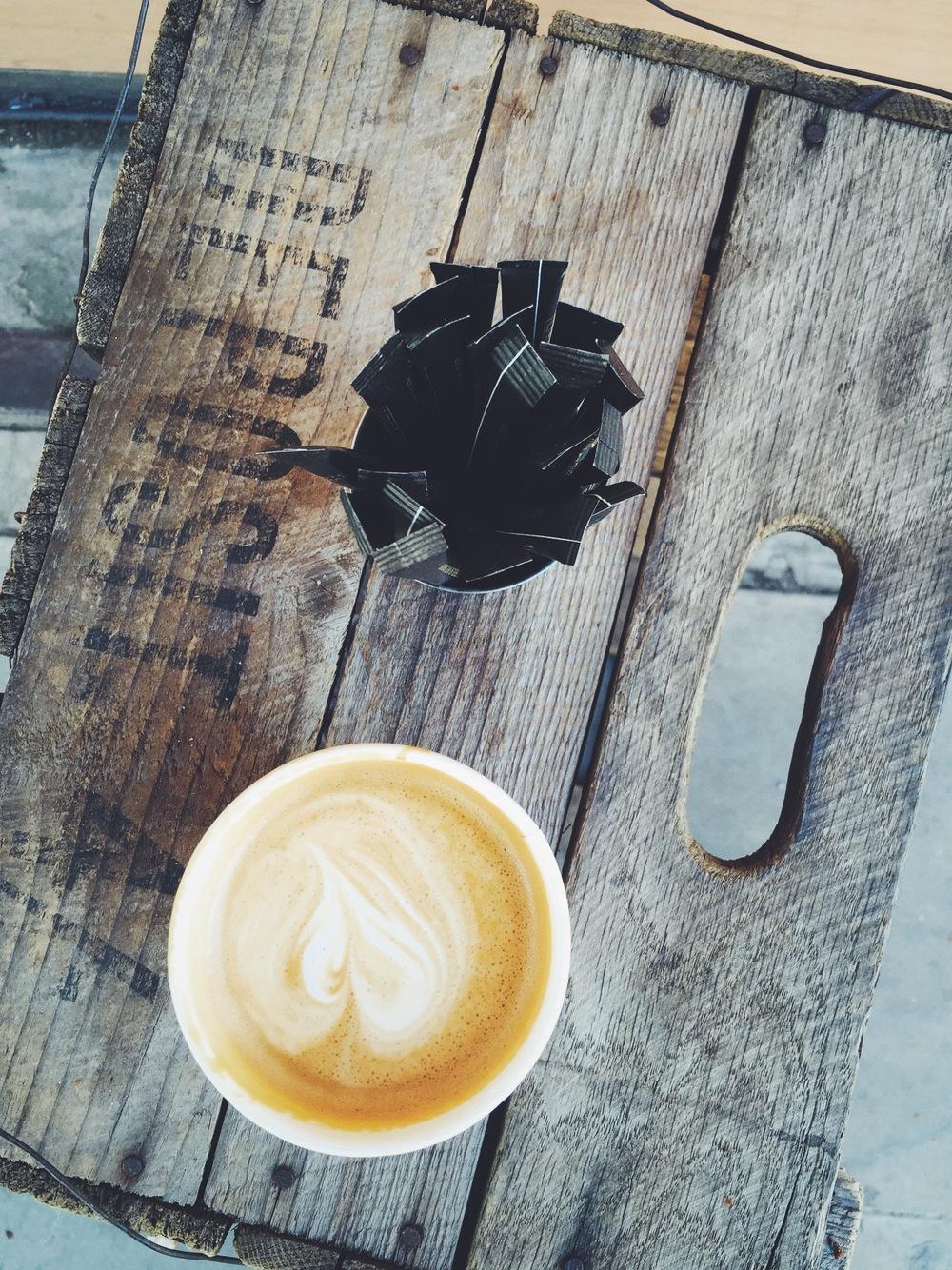 Flat White at Allpress Espresso