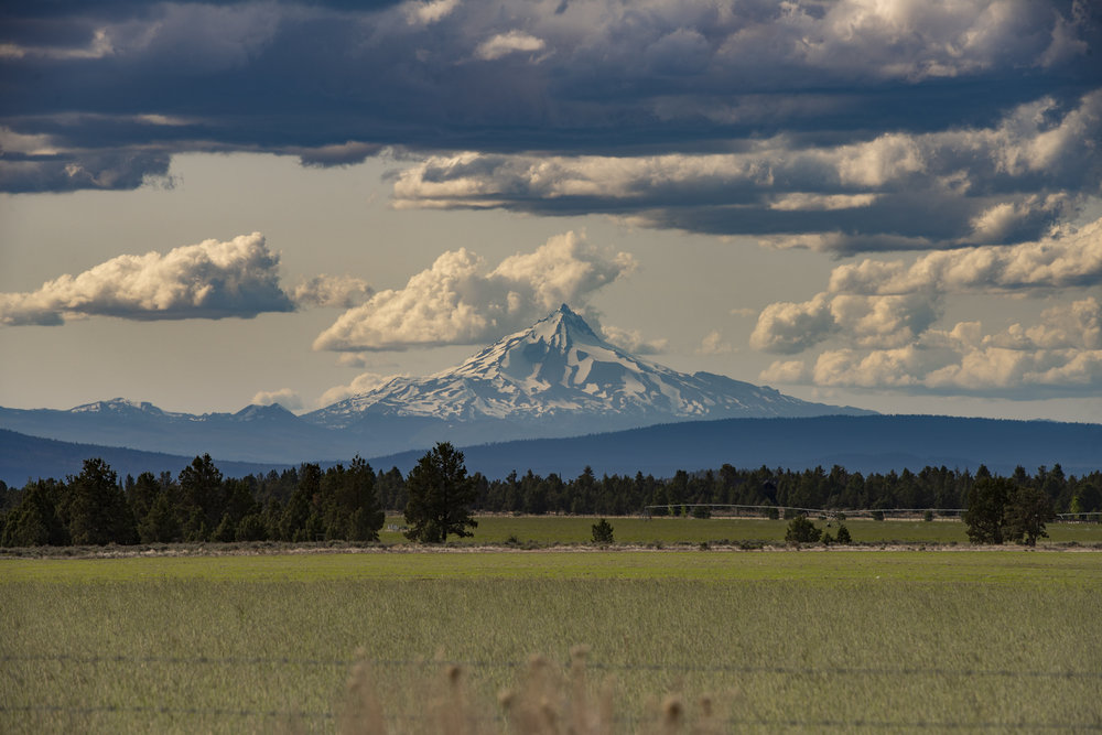 Outside of Bend Oregon, Mt. Jefferson