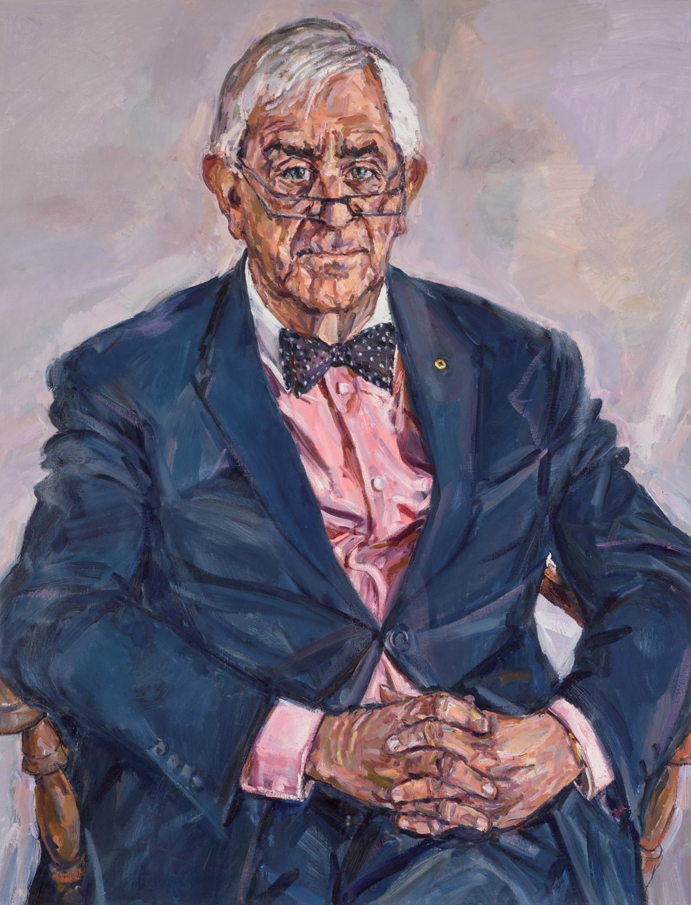 Lewis Miller - Portrait of Bernie Teague