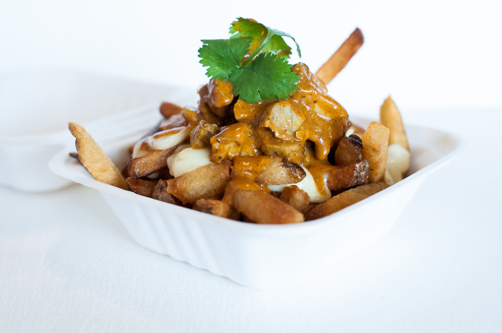 Chicken Curry Poutine
