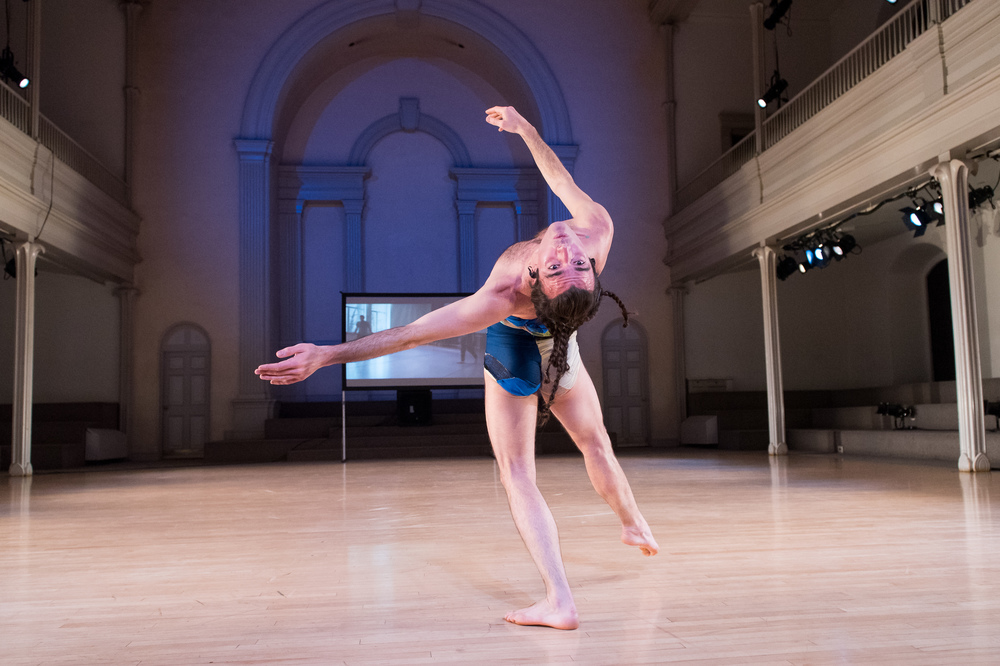 Platform 2015: Dancers, Building, and People in the Street