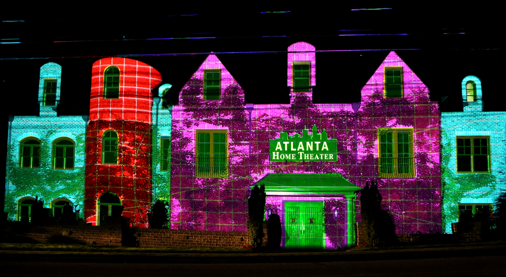 Atlanta Home Theatre Projection Mapping Projection Mapping