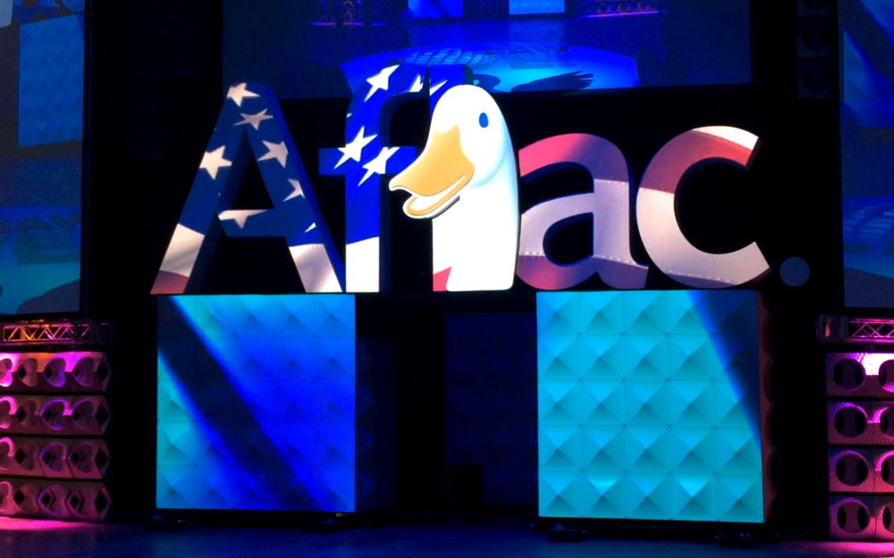 Aflac Projection Mapping