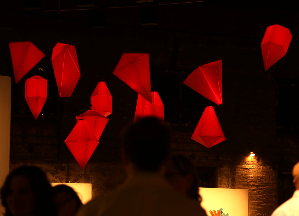 Hambidge Art Auction Kinetic Lighting