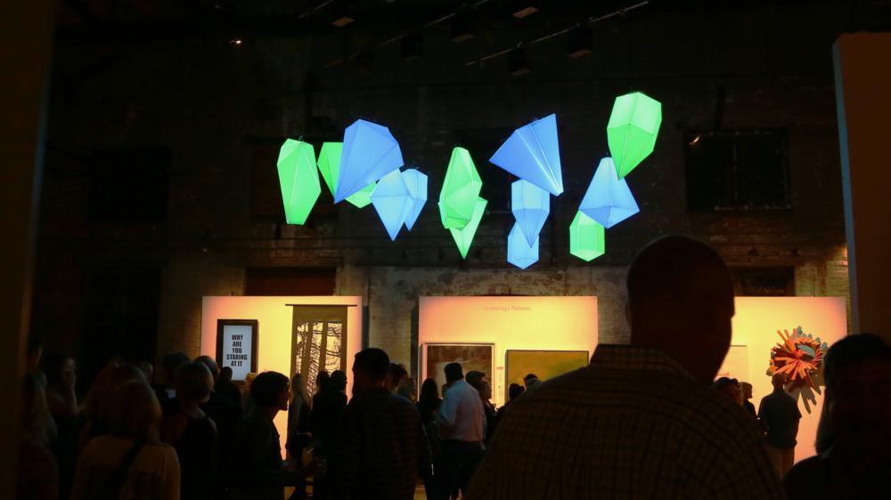 hambidige Auction LED Art installation Scenic design