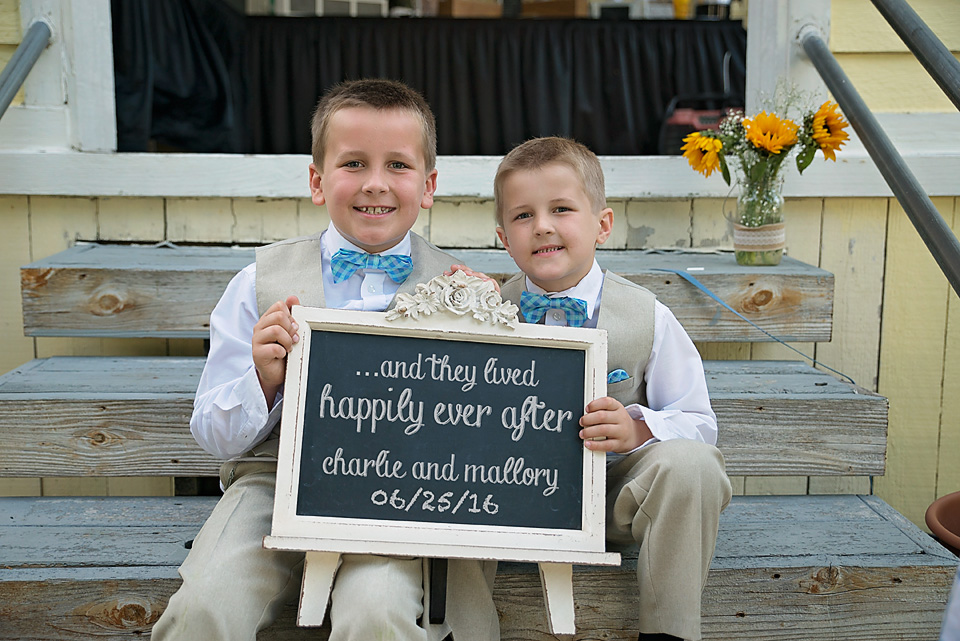 I grabbed Mallory's sons for a little surprise photograph for their mom!