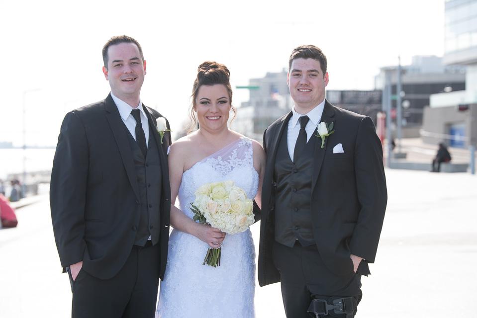17.04.01_Napela Wedding-40.4bride, brother, Detroit, downtown detroit, Lapum-Napela Wedding, river walk, sister.jpg