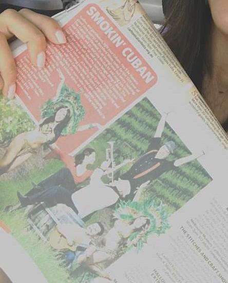 Herald Sun 2015 - For Cuban Jazz Festival