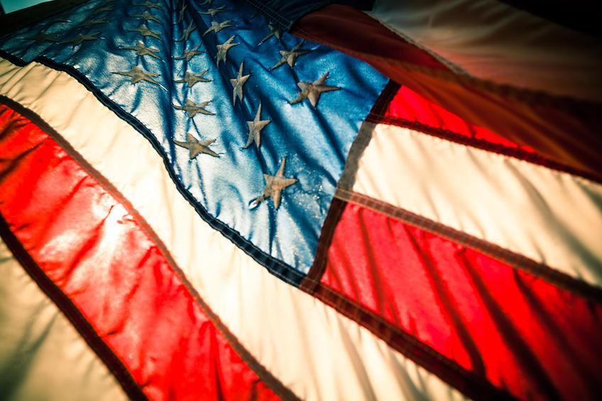 American Flag - Debbie Curtin