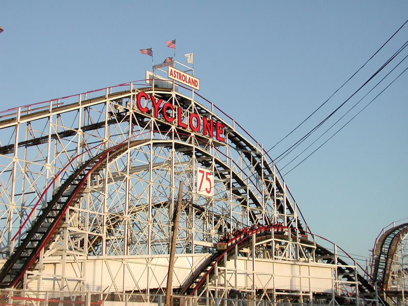 Coney Island Cyclone Debbie Curtin