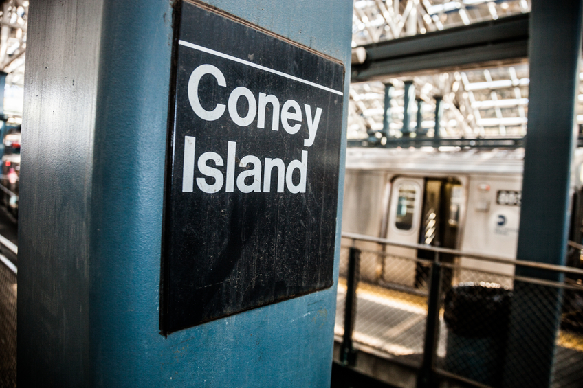 Coney Island Rail Station Debbie Curtin