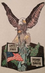 Debbie Curtin The Eagle - The Spirit of America