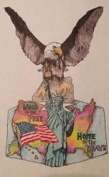 Debbie Curtin Light Base Eagle