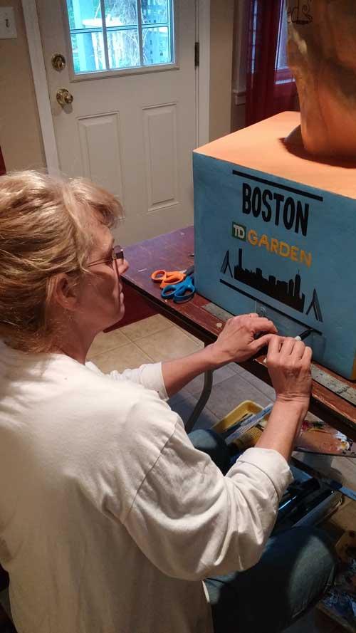 Debbie Curtin Day 8 - TD Bank -The Boston Garden