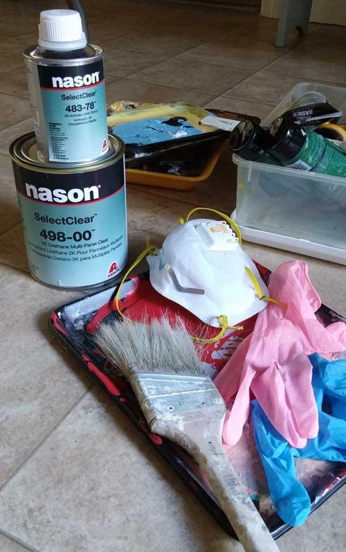 Day 12 & 13 Debbie Curtin 20170616_sealing_supplies.jpg