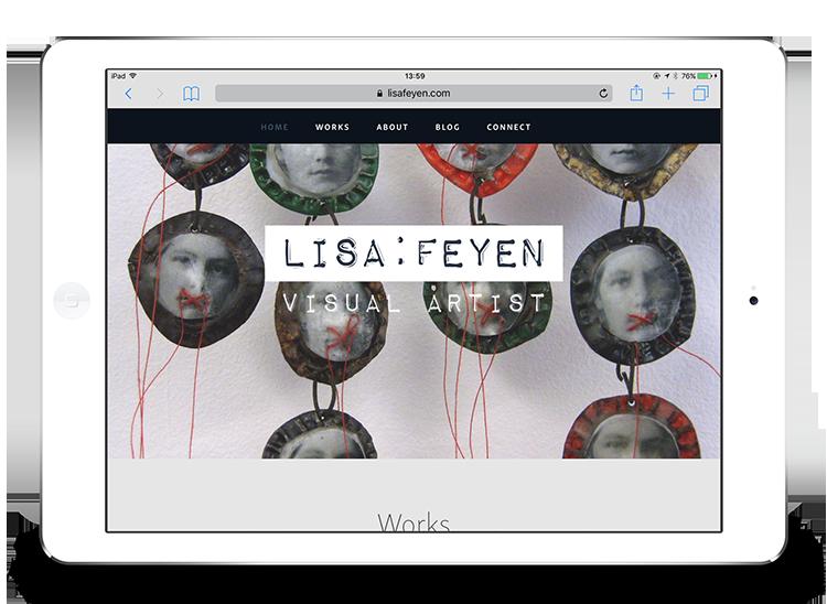 Lisa Feyen Artist website