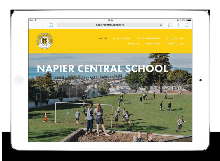 Napier Central School website