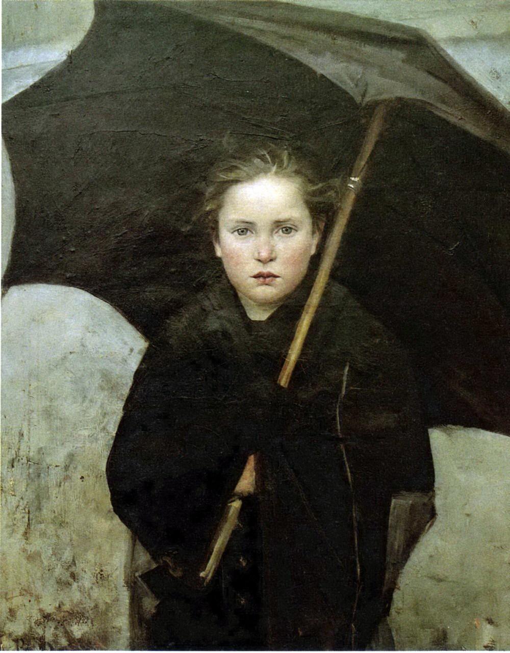 Le Parapluie — Marie Bashkirtseff (1858-1884)