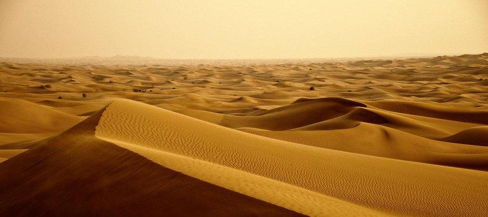 Sometimes life is like a burning desert...