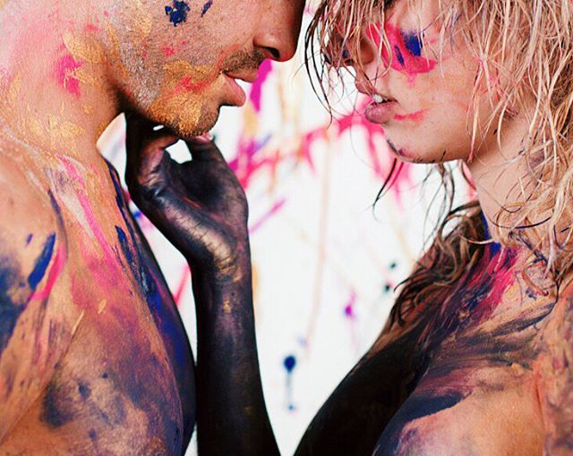 It's going to be intimate. It's going to be messy. It's going to be worth it. #LoveAndPaint