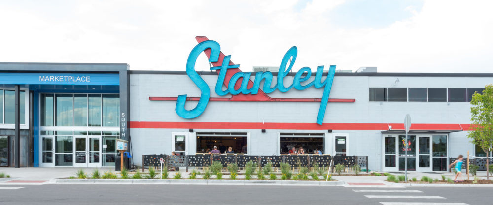 explore denver - If you're in the Denver area and haven't checked out all the goings-on at The Stanley Marketplace lately, I'd recommend a visit! There are so many new restaurants and boutiques popping up at the old aviation building in Aurora/Stapleton. It's worth checking out!