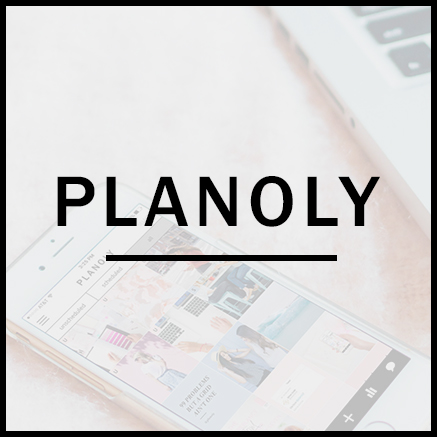 for planning ahead -If you're a solopreneur or just wanting to be more on top of your Instagram game, this one's for you. Planoly is my favorite visual app for the biz. With this tool, you can see how images work in the grid and move things around to make sure you have that cohesive vibe just so. You can also batch hashtags, write in captions, and schedule your posts to go live with a reminder and one simple click. Epic. Time. Saver.