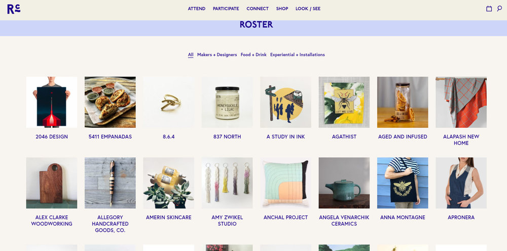 Head to http://www.renegadecraft.com/fair/chicago-spring to check out the full roster!