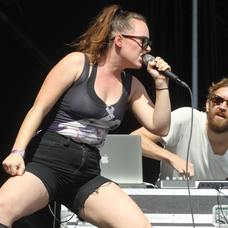 """just dancing -I love me some  Sylvan Esso . The sound just makes for some feel good music that's perfect for warm weather car jamming with the windows down.  Die Young  from their 2017 album  What Now  is a pretty popular tune and another favorite of mine is 2014's  Coffee . I also love the story behind the """"accidental formation"""" of this band- a collab. was born when no one was even looking."""