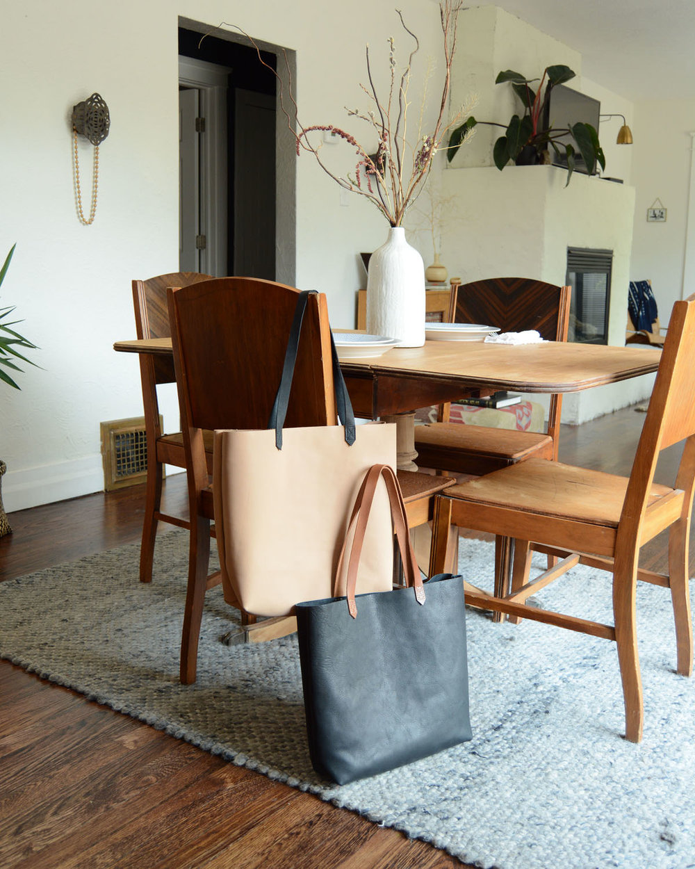 Stitch & Shutter Instagram- Leather Totes