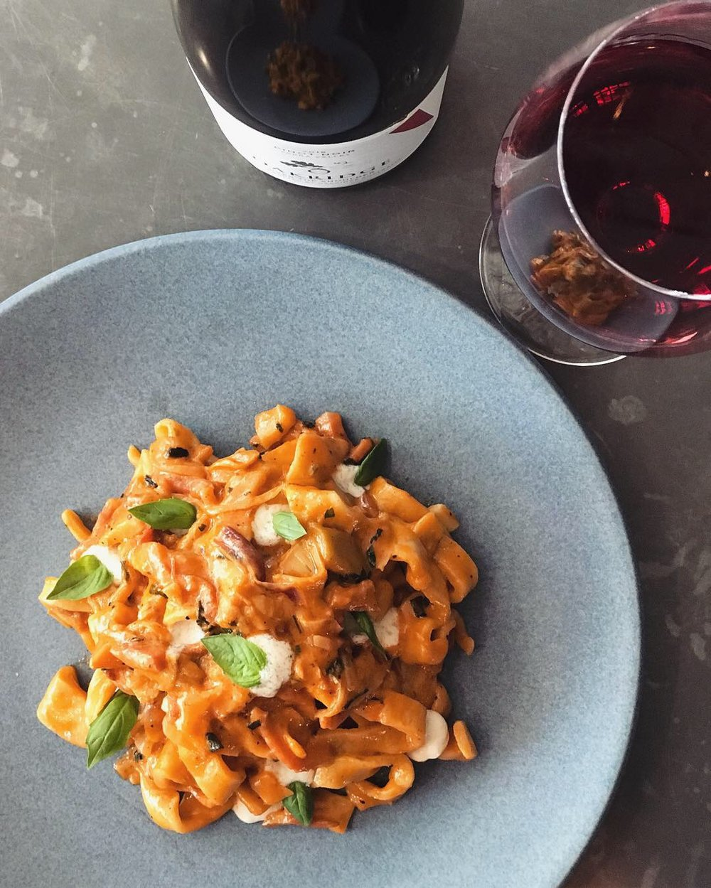 6-13 February - Amalfi scialatelli, pan-fried guanciale, Jerusalem artichokes, sugo di pomodoro, mozzarella cream emulsion, basil.Fun Fact - Scialatelli is a type of hand cut pasta that resembles a short, thicker version of fettuccine. Unlike fettuccine, scialatelli is made without eggs.