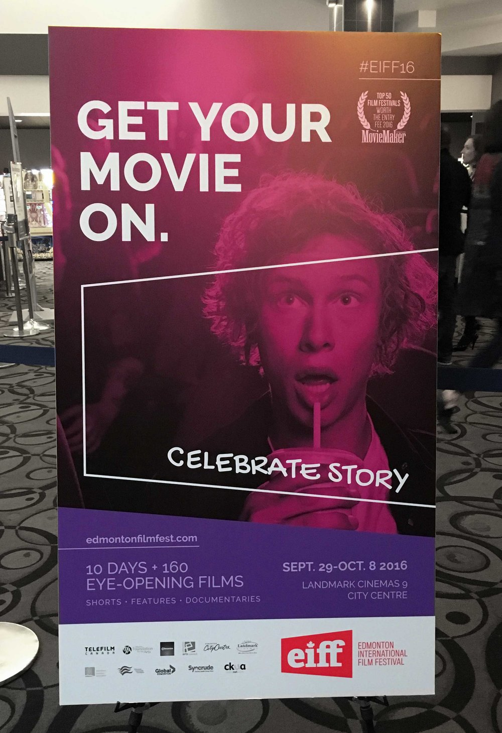 Edmonton International Film Festival - Theatre Poster