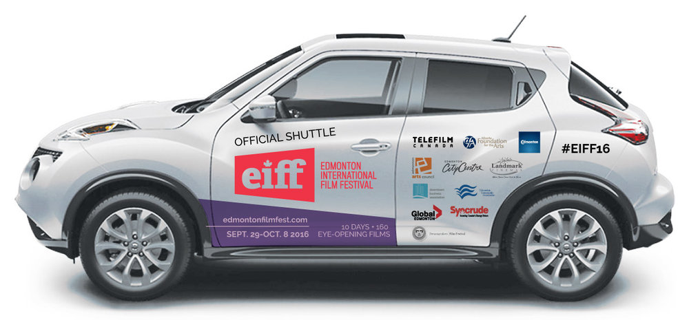 Edmonton International Film Festival - Vehicle Wrap