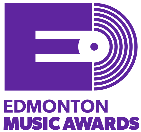 Edmonton Music Awards logo - vertical format