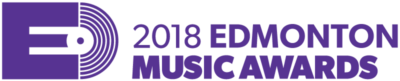 Edmonton Music Awards logo - 2018 variation