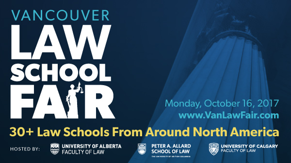 Vancouver Law School Fair 2017 – ad