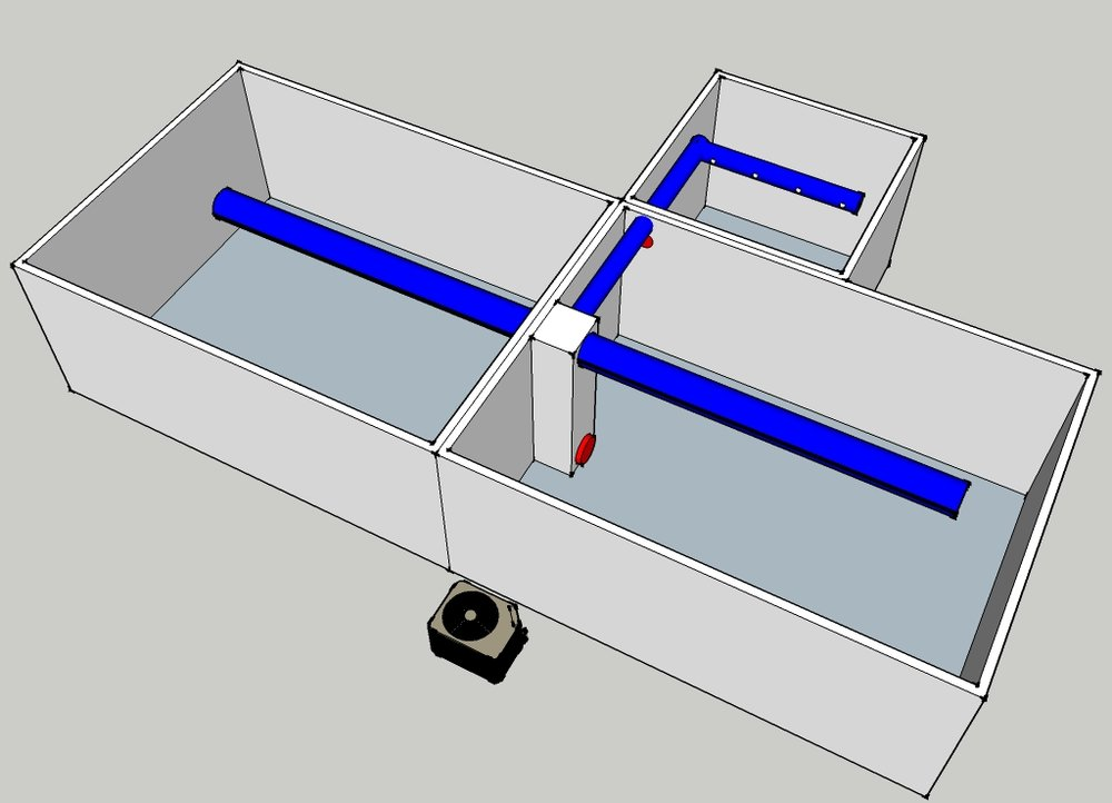 Damper Package with a Secondary Room