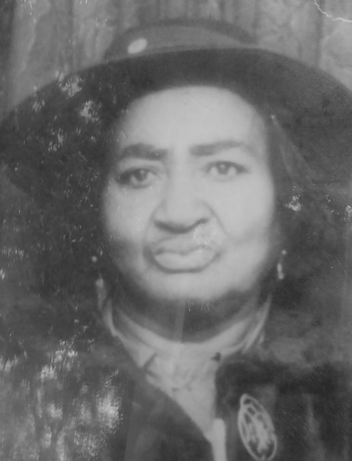 "Mary Child, Minnie Wilson's grandmother in an undated family photo. ""My grandmother [was not killed], but a lot of times people got killed. My dad said their spirits weren't rested. So they would come back because their spirit weren't rested,"" Wilson said.  (Photo courtesy of Wilson)"