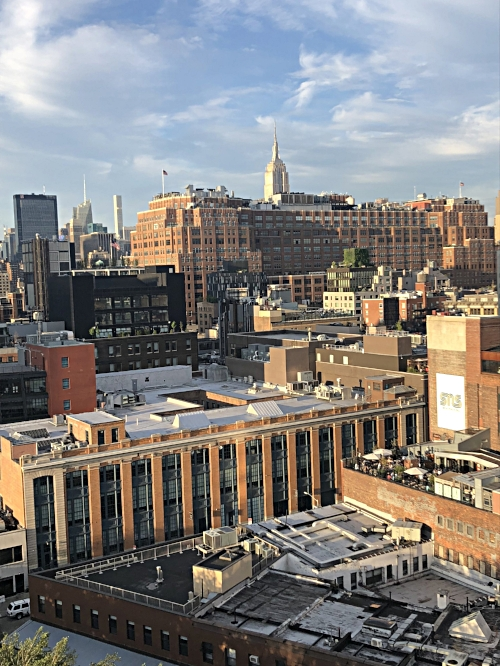 View from Whitney Museum rooftop