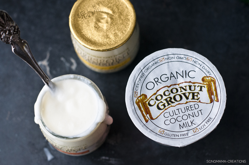 Organic Coconut Grove Yogurt Strawberry