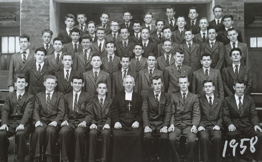 St Patrick's Church Hill, Intermediate class, 1958