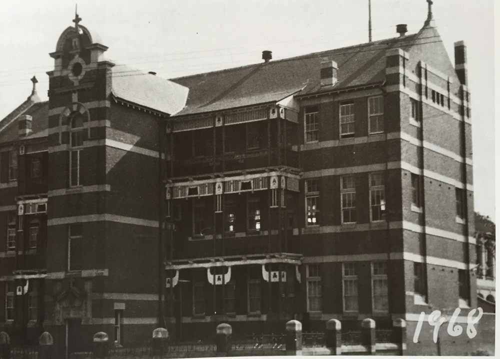 Darlinghurst, the High School, 1968