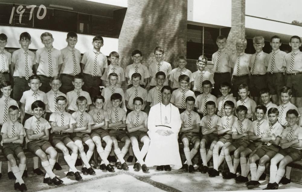 Marcellin College, Ennoggera, 1970