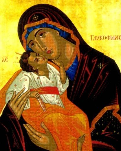 Icon of Mary, Michael Galovic, Provincial House, Drummoyne