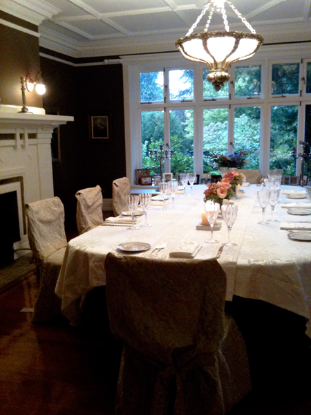 Private Home Dining Room