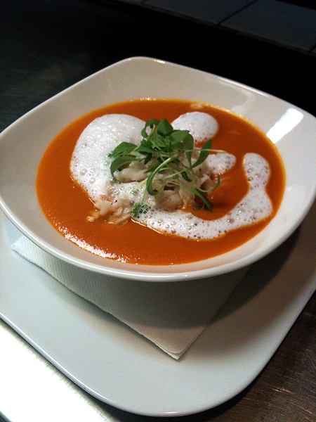 Smoked Tomato Bisque
