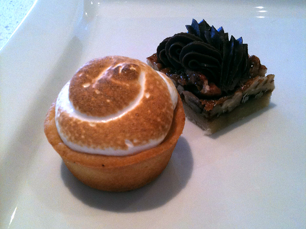 Lemon Meringue Tart & Chocolate Pecan Bar