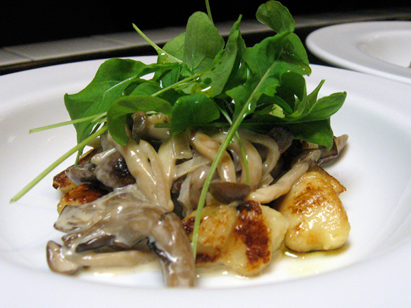 Mushrooms & Gnocchi